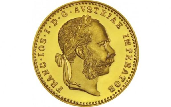 Österreich 1 Dukat Franz Joseph NP- Anlagegold nach § 25 UstG mehrwertsteuerfrei