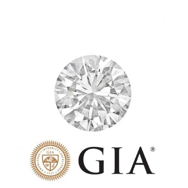 Lupenr. Diamant Farbe H,IF 3 x exc. none (1,01–1,05 Karat),GIA-Zertifikat