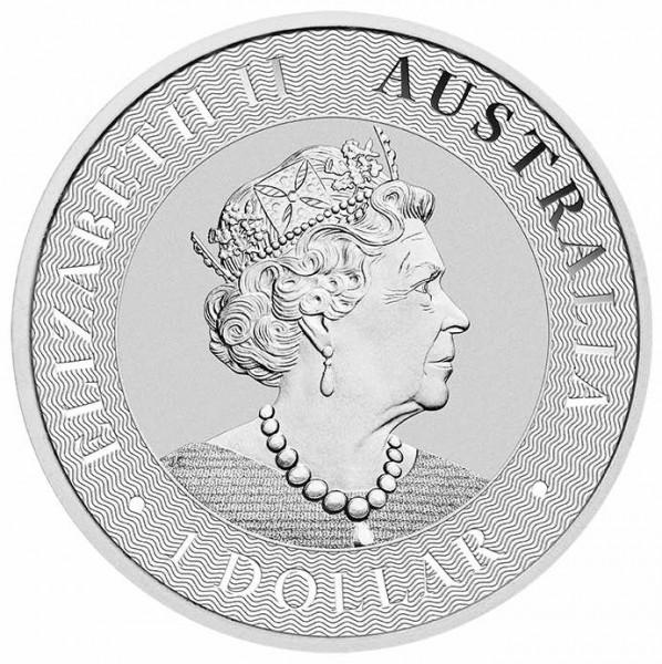 Silber Känguru 1 oz differenzbesteuert nach § 25a UstG