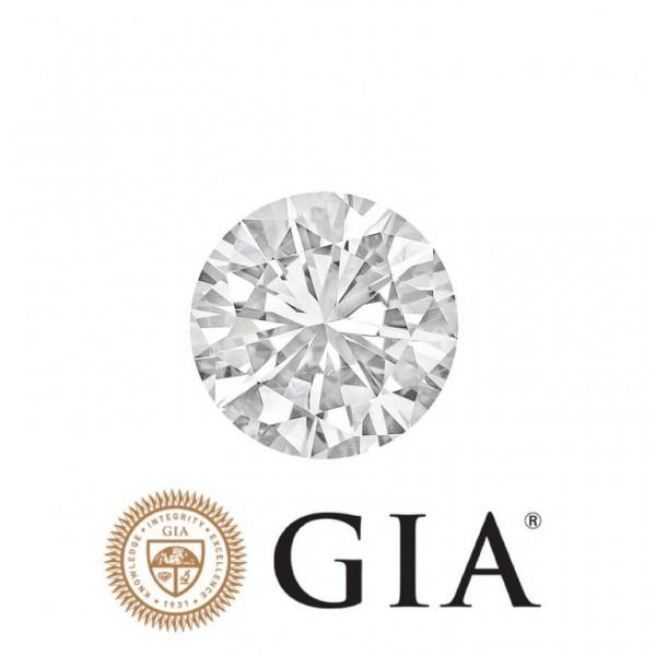 Lupenr. Diamant Farbe G,IF 3 x exc. none (0,51-0,53 Karat),GIA-Zertifikat