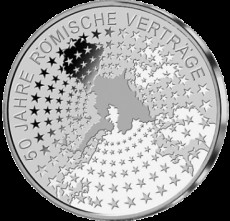 10 EUR Gedenkmünze 925 er Silber - Differenzbesteuerung nach § 25 a UstG